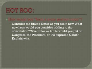 HOT ROC: