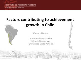 Factors contributing to achievement growth in Chile