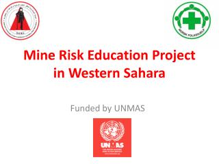 Mine Risk Education Project in Western Sahara