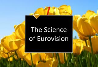 The Science of Eurovision