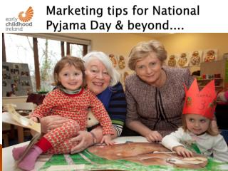 Marketing tips for National Pyjama Day & beyond....