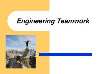 Engineering  Teamwork