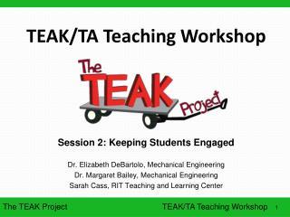 TEAK/TA Teaching Workshop