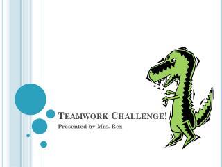 Teamwork Challenge!