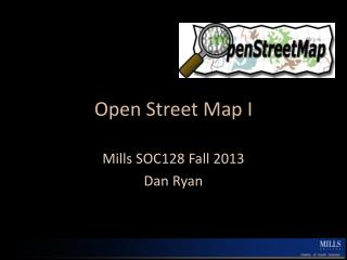 Open Street Map I