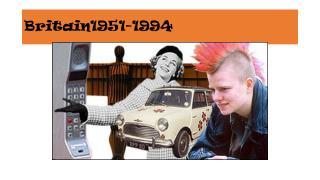 Britain1951-1994