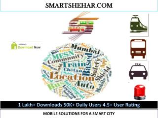 MOBILE SOLUTIONS FOR A SMART CITY