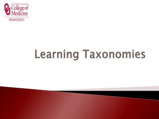 Learning Taxonomies