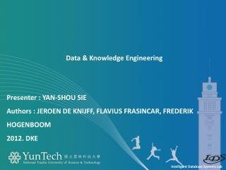 Data & Knowledge Engineering