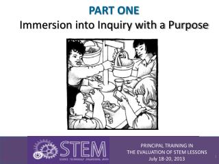 PART ONE Immersion into Inquiry with a Purpose