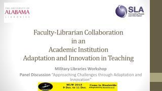 Military  Libraries  Workshop