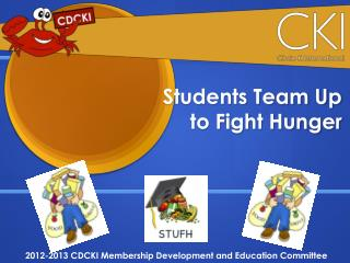 Students  Team  Up to Fight Hunger