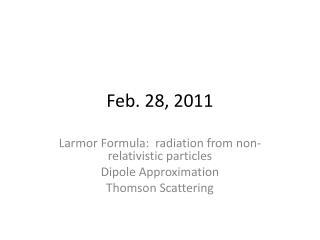 Feb. 28, 2011