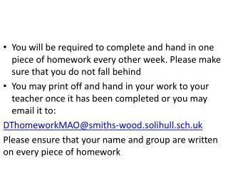 Homework 1 and 2