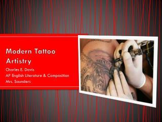 Modern Tattoo Artistry