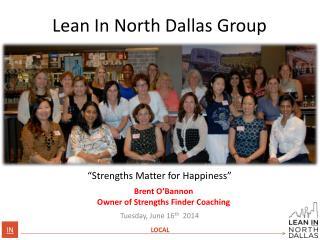 Lean In  North Dallas Group