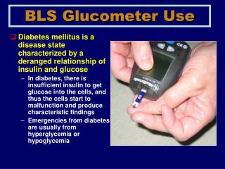 BLS Glucometer Use