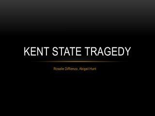 Kent State Tragedy