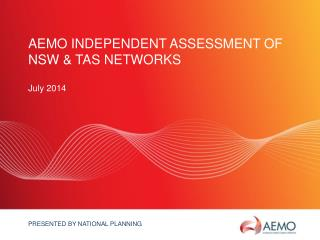 AEMO Independent Assessment of NSW & TAS Networks