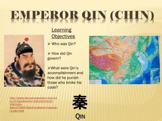Emperor Qin (Chin)