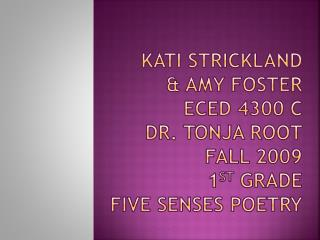 Kati Strickland Prewriting GPS: