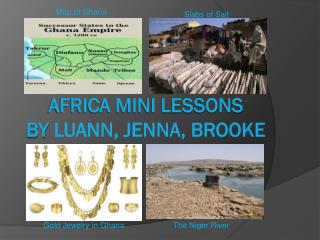 Africa Mini Lessons BY  Luann, Jenna, Brooke