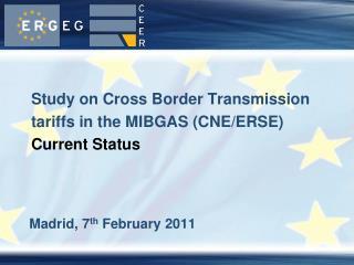 Madrid, 7 th  February 2011