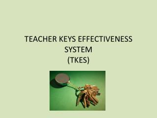TEACHER KEYS EFFECTIVENESS SYSTEM (TKES)