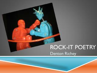 Rock-It Poetry