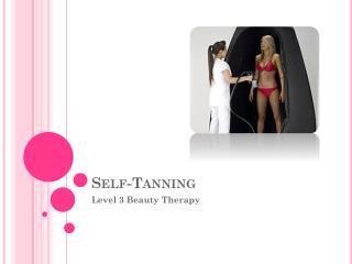 Self-Tanning