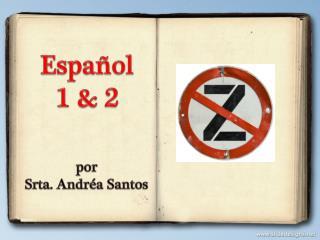 por Srta. Andréa Santos