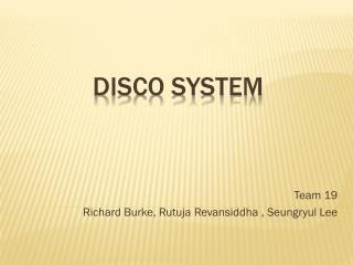 DISCO System