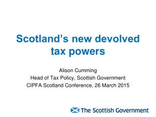 State Aid Conference for Scottish Local Authorities
