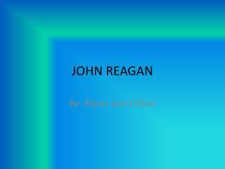 JOHN REAGAN