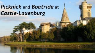 Picknick a nd Boatride  at  Castle- Laxenburg