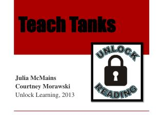 Teach Tanks
