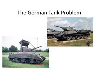 The German Tank Problem