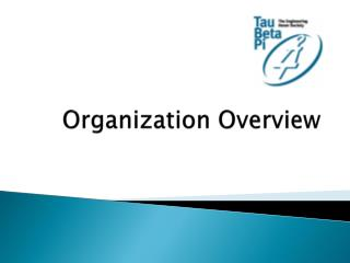 Organization Overview