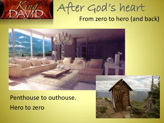 After God�s heart