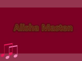 Alisha Masten