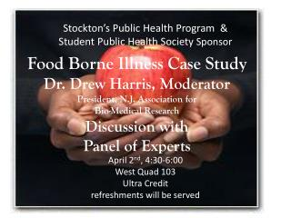 Stockton�s Public Health Program  &  Student Public Health Society  Sponsor