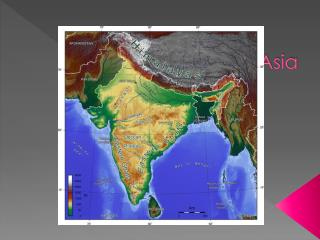 Physical South Asia