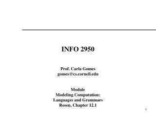 INFO 2950