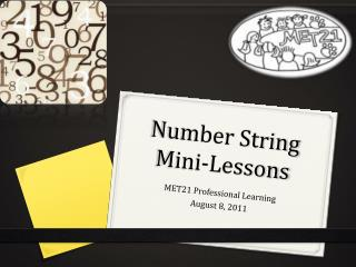 Number String Mini-Lessons