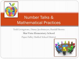 Number Talks &  Mathematical Practices