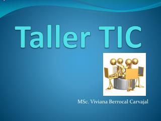 Taller TIC