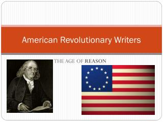American Revolutionary Writers
