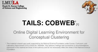 TAILS:  COBWEB 1 [1]