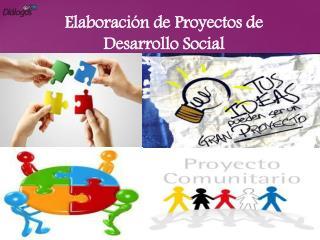 Elaboración de Proyectos de Desarrollo Social