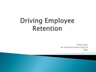 Driving Employee Retention